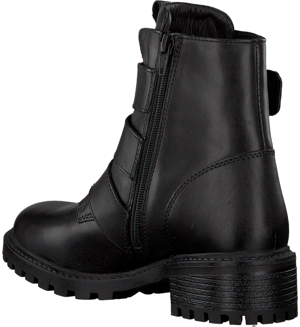 Black PS POELMAN Biker boots LPCFENIX-40  - large
