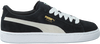 Black PUMA Sneakers SUEDE JR - small