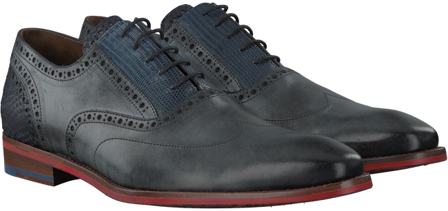 Grey FLORIS VAN BOMMEL Business shoes 19062 - large