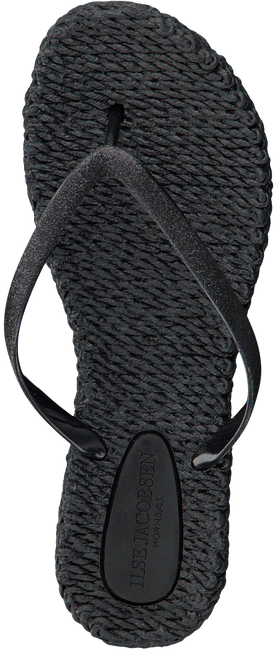 Black ILSE JACOBSEN Flip flops CHEER - large