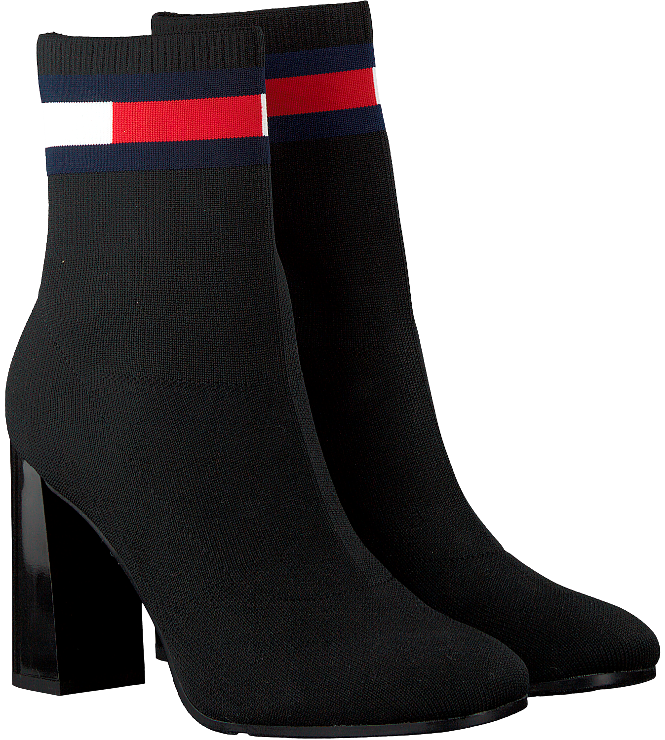 a10a3bca7 Black TOMMY HILFIGER Booties SOCK HEELED BOOT - large. Next