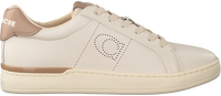 Beige COACH Low sneakers ADB LEATHER-SUEDE LOW TOP  - medium