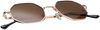 Brown WYSH Sunglasses ROBYN  - small