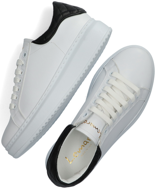 White LEMARÉ Low sneakers 2494  - large