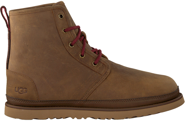 Cognac UGG Lace-up boots HARKLEY WEATHER  - large