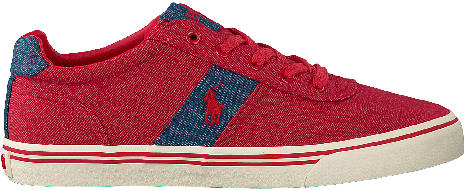 Red POLO RALPH LAUREN Sneakers HANFORD