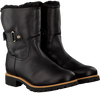 Black PANAMA JACK Fur boots FELIA IGLOO TRAVELLING - small