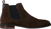 Brown TOMMY HILFIGER Chelsea boots SIGNATURE HILFIGER CHELSEA  - medium