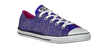 Purple CONVERSE Sneakers AS EAST COASTER SHINE - small