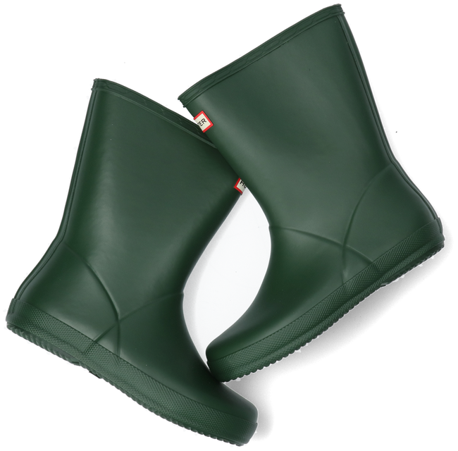 Green HUNTER Rain boots KIDS FIRST CLASSIC  - large