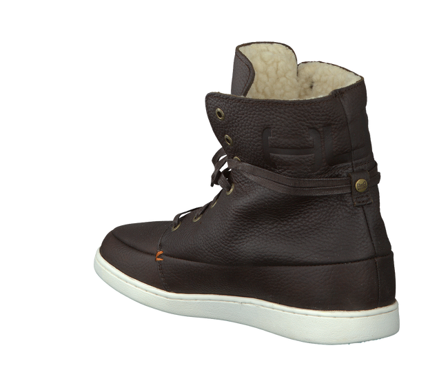 Brown HUB Ankle boots TIN L - large
