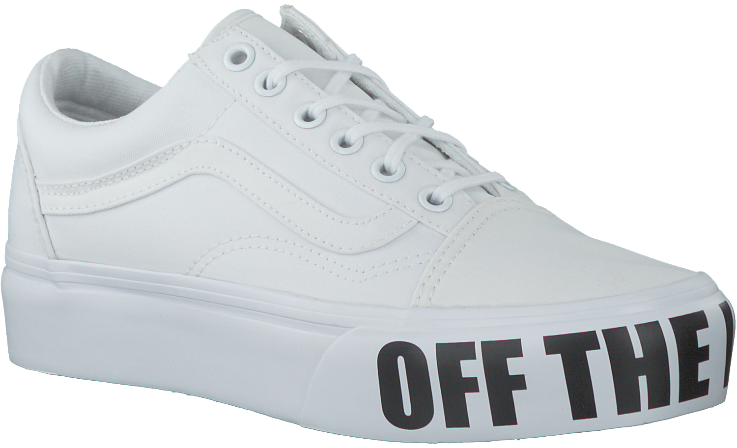 White VANS Sneakers OLD SKOOL PLATFORM - Omoda.com