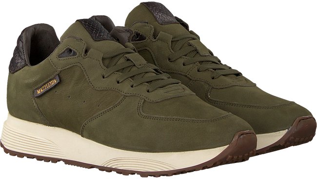 Green MAZZELTOV Sneakers MRALPH102  - large