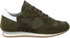 Green PHILIPPE MODEL Sneakers TROPEZ CAMOUFLAGE  - small