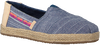 Blue TOMS Slip-on shoes ALPARGATA  - small