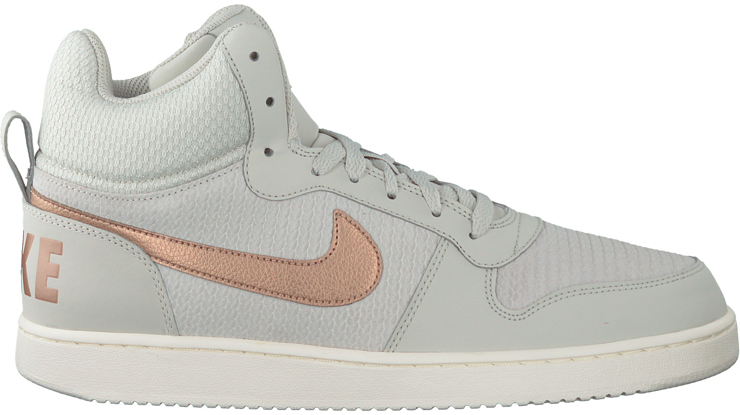 White NIKE Sneakers COURT BOROUGH MID PREM DAMES - Omoda.com