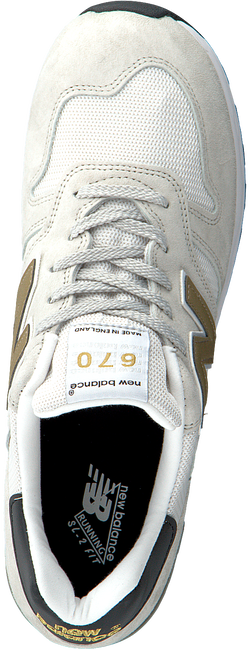 White NEW BALANCE Low sneakers M670  - large