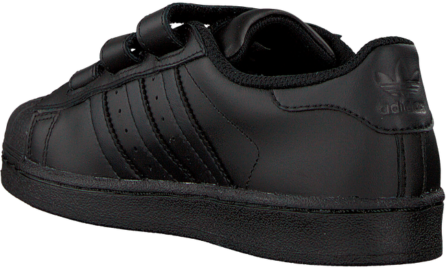 Black ADIDAS Sneakers SUPERSTAR FOUNDATION - large