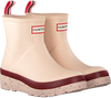 Pink HUNTER Rain boots WOMENS PLAY SHORT SPECKLE SOLE  - small
