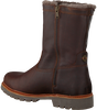 Brown PANAMA JACK Classic ankle boots FEDRO IGLOO C10 - small