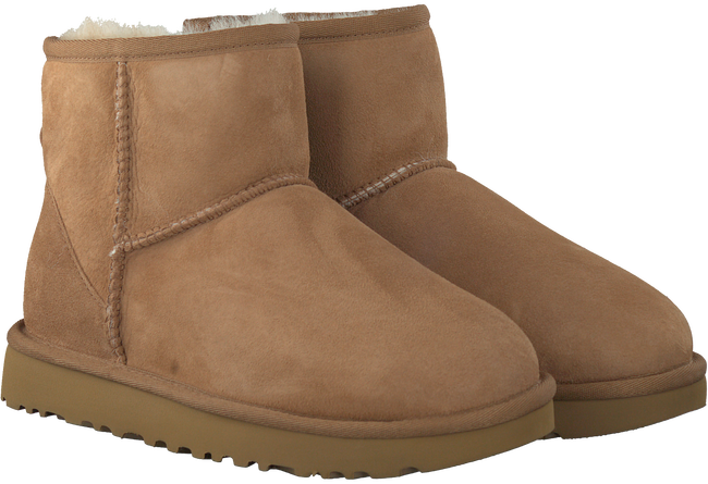Brown UGG Fur boots CLASSIC MINI II - large