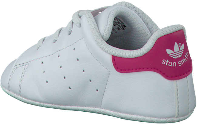 White ADIDAS Baby shoes STAN SMITH CRIB - large