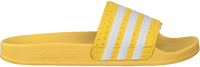 Yellow ADIDAS Slides ADILETTE KIDS  - medium