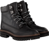Black TIMBERLAND Lace-up boots LONDON SQUARE 6IN BOOT - small