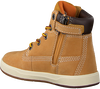 Camel TIMBERLAND Classic ankle boots DAVIS SQUARE 6 KIDS - small