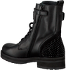 Black HIP Lace-up boots H1846 - small