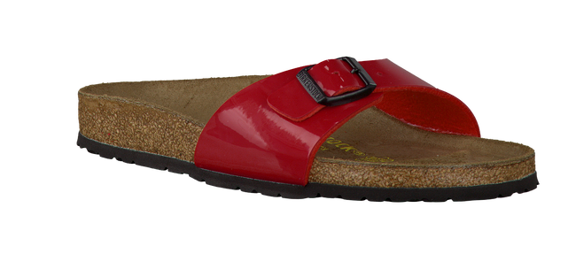 Red BIRKENSTOCK PAPILLIO Flip flops MADRID - large