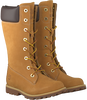 Camel TIMBERLAND High boots GIRLS CLASSIC TALL LACE-UP - small