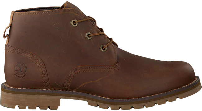 Brown TIMBERLAND Ankle boots LARCHMONT WP CHUKKA MED - large