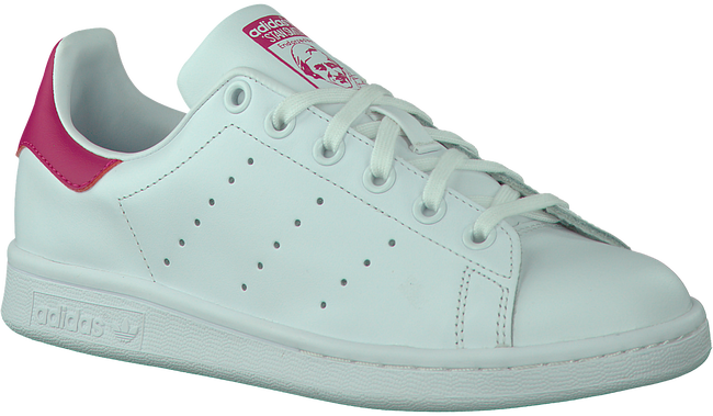 White ADIDAS Sneakers STAN SMITH KINDER DAMES - large
