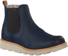 Blue CLARKS Classic ankle boots CROWN HALO - small