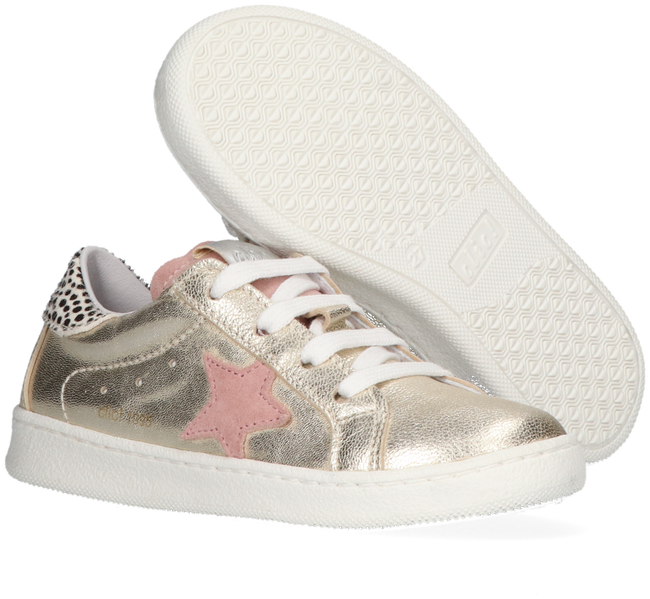 Gold CLIC! Low sneakers CL-20305  - large