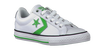 White CONVERSE Sneakers STAR PLAYER OX KIDS - small