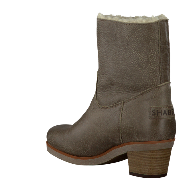 Taupe SHABBIES Booties 201264 - large