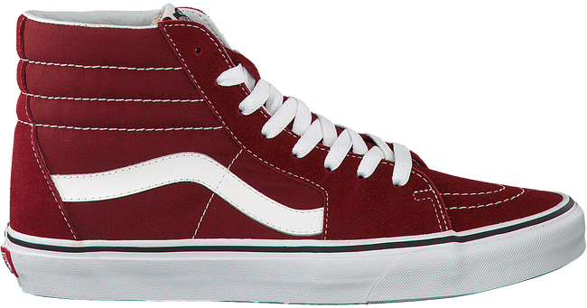 Red VANS Sneakers SK8-HI SK8-HI SK8-HI HEREN c58488