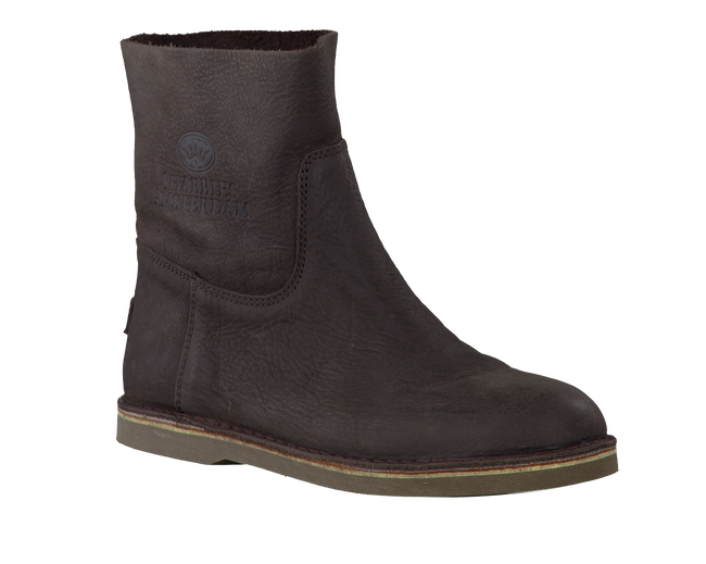 Brown SHABBIES Booties 202002 - large