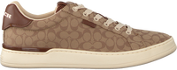 Brown COACH Low sneakers ADB SIG JACQUARD LOW TOP  - medium