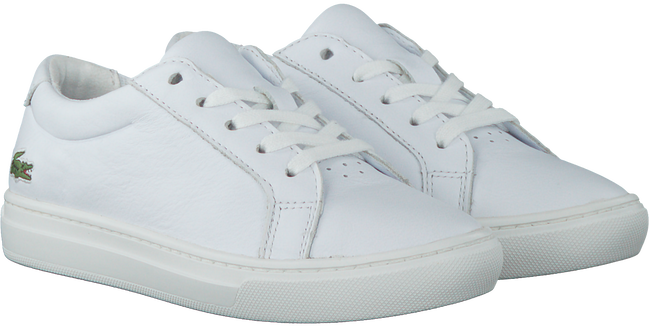 White LACOSTE Sneakers L.12.12 - large