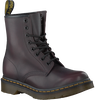 Red DR MARTENS Ankle boots 1460 - small