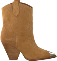 Cognac LOLA CRUZ Booties 293T10BK  - medium