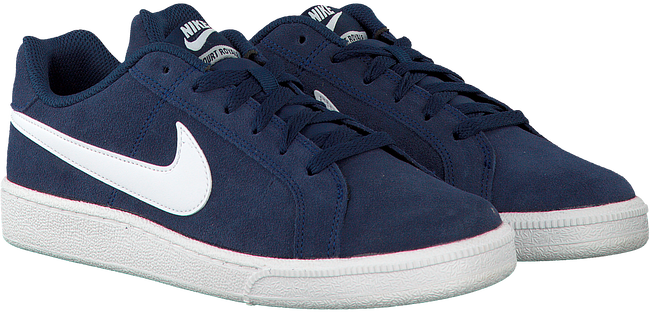 Blue NIKE Sneakers COURT ROYALE SUEDE MEN - large