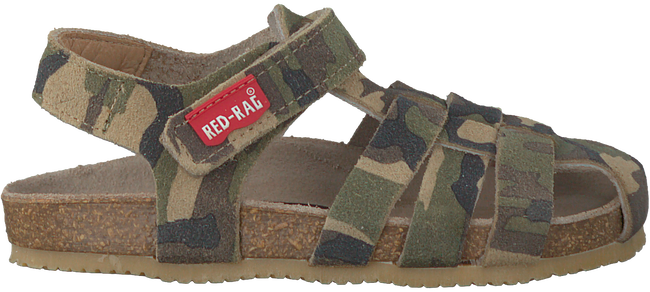 Green RED RAG Sandals 19041 - large