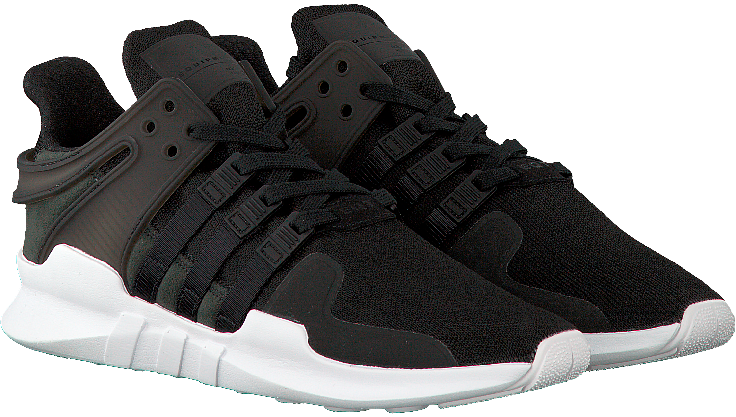Black ADIDAS Sneakers EQT SUPPORT ADV HEREN - Omoda.com