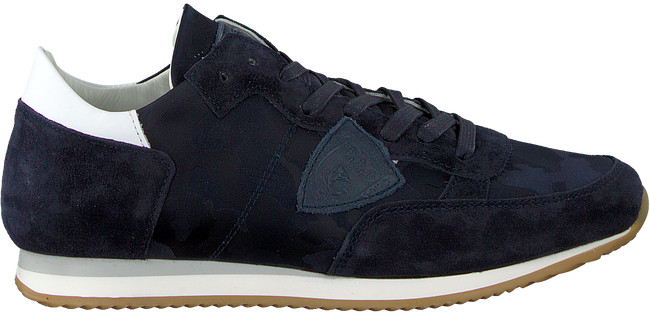 Blue PHILIPPE MODEL Sneakers TROPEZ CAMOUFLAGE  - large