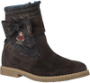 Brown RED RAG High boots 15250 - small