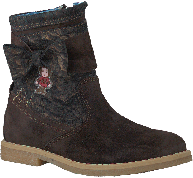 Brown RED RAG High boots 15250 - large